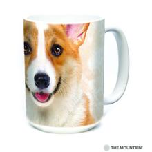 Corgi Face Ceramic Mug by The Mountain