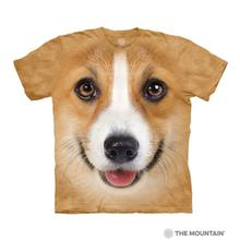 Corgi Face Human T-Shirt by The Mountain