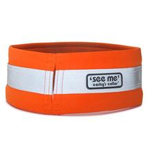 Corky's Reflective Wear Dog Overcollar - Oh My Orange