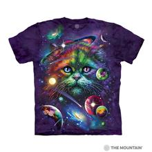 Cosmic Cat Human T-Shirt by The Mountain