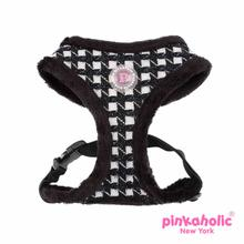 Cosmo Adjustable Dog Harness by Pinkaholic - Black
