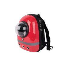 Cosmonaut Backpack Cat Carrier by Catspia - Red