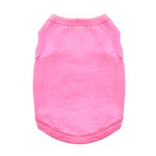 Cotton Dog Tank by Doggie Design - Carnation Pink