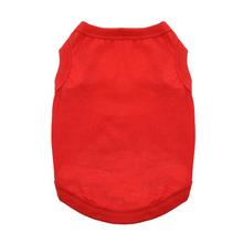 Cotton Dog Tank by Doggie Design - Flame Scarlet Red
