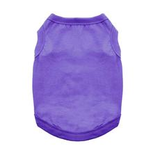 Cotton Dog Tank by Doggie Design - Ultra Violet