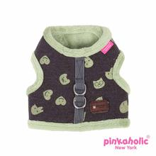 Cottontail Pinka Dog Harness by Pinkaholic - Brown