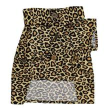 Feline Fancy Dog Shirt by Dog Threads - Leopard Print