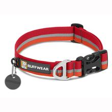 Crag Dog Collar by RuffWear - Kokanee Red