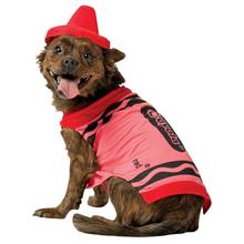 Crayola Crayon Dog Costume by Rasta Imposta - Red