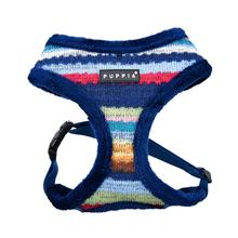 Crayon Basic Style Dog Harness By Puppia - Navy