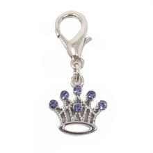 Crown D-Ring Pet Collar Charm by foufou Dog - Lilac