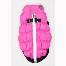 Crown Scrunchy Puffer Dog Vest by Hip Doggie - Pink