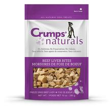 Crumps' Naturals Freeze Dried Beef Liver Bite Dog Treat