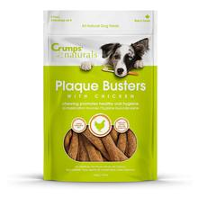 Crumps' Naturals Plaque Buster Chicken Dog Treats