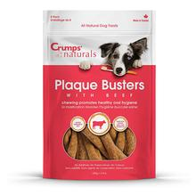 Crumps' Naturals Plaque Buster Beef Dog Treats