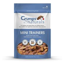 Crumps' Naturals Semi-Moist Mini Trainers Dog Treats - Beef