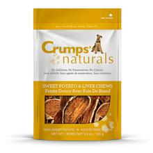 Crumps' Naturals Sweet Potato & Liver Chews Dog Treats
