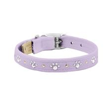 Crystal Paws Dog Collar by Susan Lanci - French Lavender