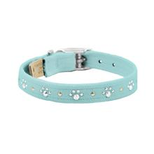 Crystal Paws Dog Collar by Susan Lanci - Tiffi Blue