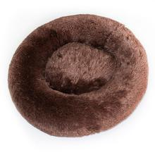 Cuddle Shag Dog Bed by Hello Doggie - Chocolate