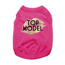 Top Model Dog Shirt - Bright Pink
