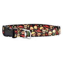 Cycle Dog Ecoweave Sugar Skulls Dog Collar