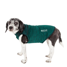Pet Life® ACTIVE 'Aero-Pawlse' Heathered Dog Tank Top T-Shirt - Green