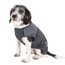 Pet Life ACTIVE 'Aero-Pawlse' Heathered Dog Tank Top T-Shirt - Black