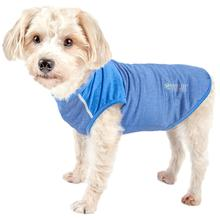Pet Life ACTIVE 'Aero-Pawlse' Performance Dog Tank Top - Blue