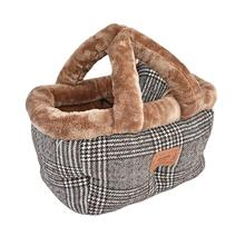 Da Vinci Basket Dog Bed By Pinkaholic - Brown