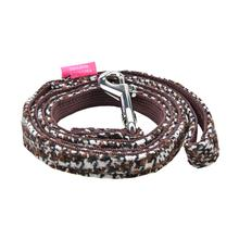 Da Vinci Dog Leash By Pinkaholic - Brown