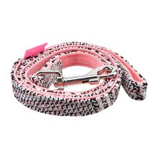 Da Vinci Dog Leash By Pinkaholic - Pink