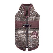 Da Vinci Winter Dog Vest By Pinkaholic - Brown