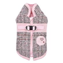 Da Vinci Winter Dog Vest By Pinkaholic - Pink