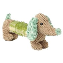 DachRageous Dog Toy - Green and Tan
