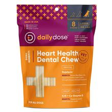 Daily Dose Heart Health Dental Chew Dog Treat