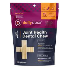 Daily Dose Joint Health Dental Chew Dog Treat