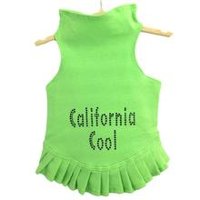 Daisy & Lucy California Cool Dog Dress - Lime