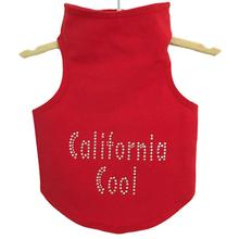 Daisy & Lucy California Cool Dog Tank - Red