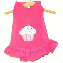 Daisy & Lucy Cupcake Dog Dress - Hot Pink