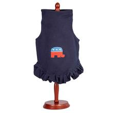 Daisy & Lucy Republican Elephant Dog Dress - Navy