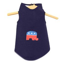 Daisy & Lucy Republican Elephant Dog Tank - Navy