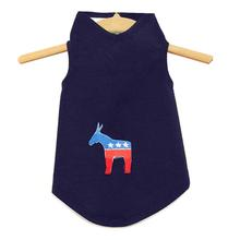 Daisy & Lucy Democratic Donkey Dog Tank - Navy