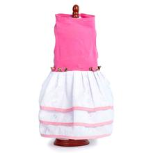 Daisy & Lucy Pink Top and Triple Eyelet Skirt Dog Dress