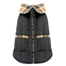 Daisy and Lucy Puffer Dog Coat - Black
