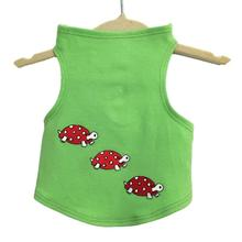 Daisy & Lucy Racing Turtles Dog Tank - Lime