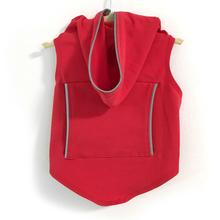 Daisy and Lucy Reflective Dog Hoodie - Red
