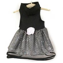 Daisy & Lucy Black Tulle and Sequin Dog Dress