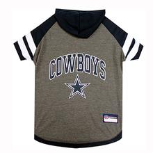 Dallas Cowboys Hooded Dog T-Shirt