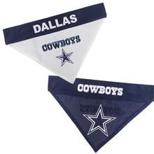 Dallas Cowboys Reversible Dog Bandana Collar Slider